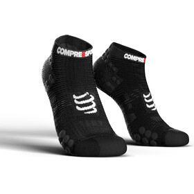 Compressport Pro Racing V3.0 Run Low juoksusukat , musta